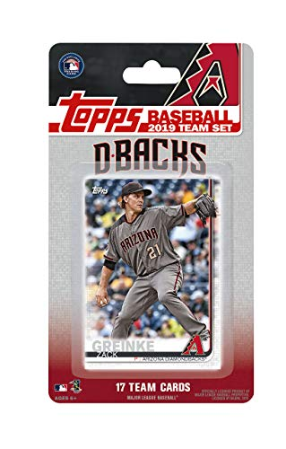 Arizona Diamondbacks 2019 Topps Baseball Factory Sealed Special Edition 17 Card Team Set with Zach Greinke Plus