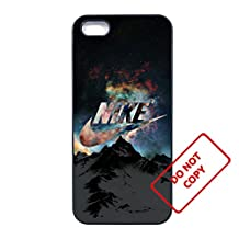 Nike iphone 5c case Customized soft rubber black phone case,