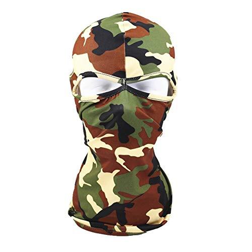 amorar Pasamontañas cara cubierta exterior Wind Máscara Tactical ...