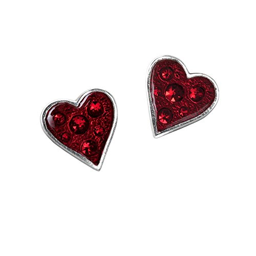 (Heart's Blood Pair of Earrings by Alchemy Gothic)