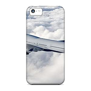 PC phone carrying shells Awesome Phone Cases covers iphone 5 / 5s - boeing 747 delta airlines hjbrhga1544