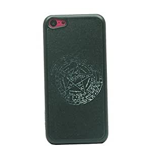 AES - Ancient Style Prose Star Drawing Pattern Hard Case for iPhone 5C