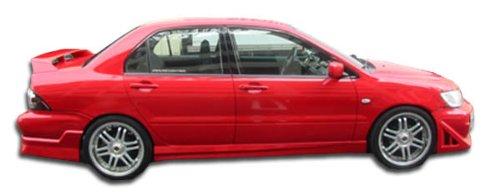 Duraflex Replacement for 2002-2003 Mitsubishi Lancer Walker Side Skirts Rocker Panels - 2 Piece
