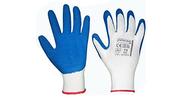 Guantes Anticorte Latex Reforzado – Guante de nylon, algodón, con ...