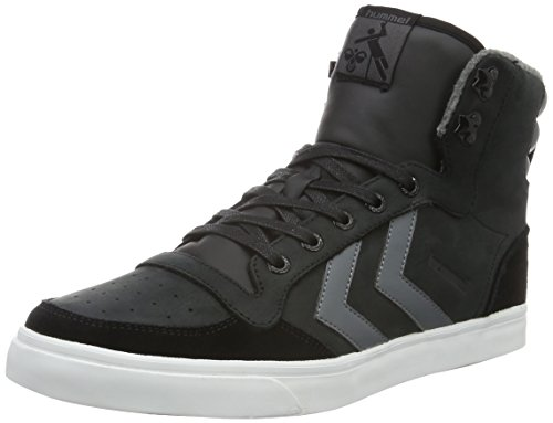 hummel Stadil Winter Sneaker, Sneakers Hautes Mixte Adulte Noir (Black)
