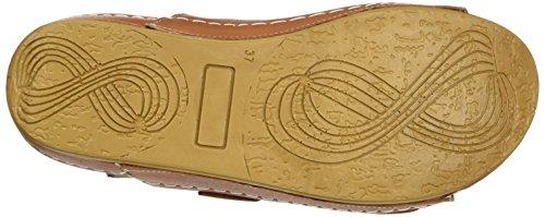 Andrea Conti Damen 0023442 Pantoletten Braun (Cognac)