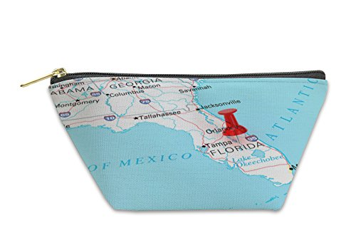 Gear New Accessory Zipper Pouch, Destination Florida, Small, - Florida Stores Destin