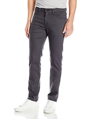 Stonewash Slim Fit Jeans - Levi's Men's 511 Slim Fit Jean, Grey - Black 3D - Stretch, 34W x 30L