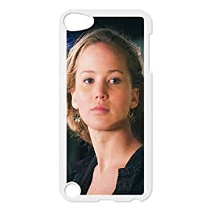 iPod Touch 5 Case White Jennifer Lawrence Natural Film Girl Face Yycuk