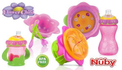 "Nuby ""Flower"" Set"