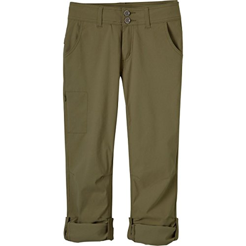 prAna Women's Short Inseam Halle Pant, 0, Cargo Green by prAna (Image #5)