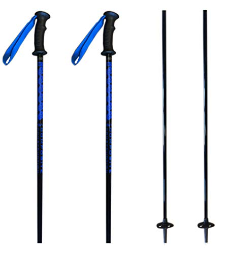 K2 composite Power Ski Poles Ski Skiing Pole with Tab Grip 34