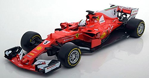 Burago 1/18 Scale Diecast Model Car 18-16805 - Ferrari F1 2017 - S - Usa Ferrari Models