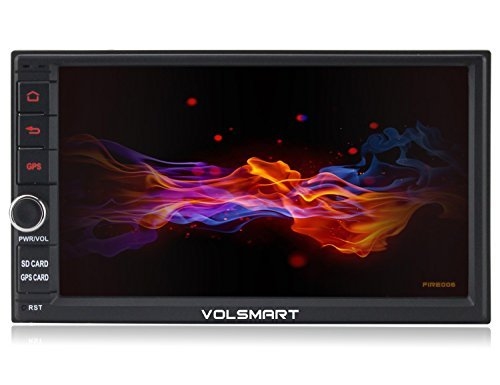 Volsmart Fire006 Android 6.0 Double Din Car Stereo GPS with 8 Cores 2GB RAM 32GB ROM support 4G SIM Card