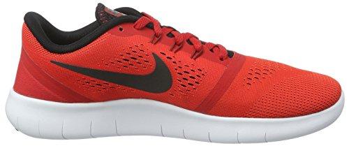 Nike Free Rn (Gs), Zapatillas de Gimnasia para Niños Rojo (University Red / Black-White)