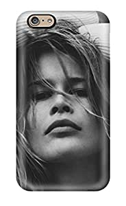HPwbRqH29617OgFZO Case Cover Protector For Iphone 6 Claudia Schiffer Face Case