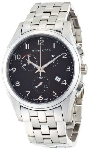Hamilton - Men's Watches - Jazzmaster Thinline Chrono - Ref. H38612133