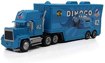 Disney Pixar Cars 3 McQueen Hauler Trucks Metal 1:55 Car Toys New