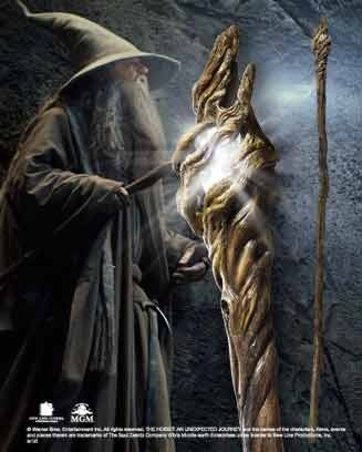 The Noble Collection Gandalf Illuminating Staff Standard