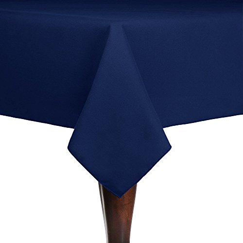 - Ultimate Textile (3 Pack) Cotton-feel 60 x 120-Inch Rectangular Tablecloth - for Wedding and Banquet, Hotel or Home Fine Dining use, Royal Blue