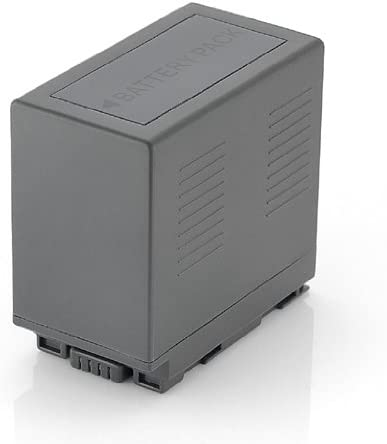Pack of 2 CGR-D54 Batteries for Panasonic CGA-D54S AG-HRX200 AG-DVX100 DVX100A DVX100B HDC-Z10000 AG-DVC30 AG-HRX200P AG-DVC60 AG-DVC80 AG-DVC62 AG-DVC32 AG-DVX102A Camcorder More!!