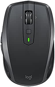 Logitech 910-005156 MX Anywhere 2S Wireless Mouse, Graphite Black