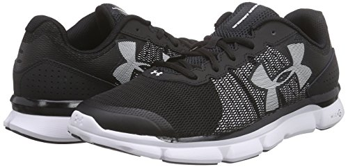 Course Under 1 Micro Pour Homme G Speed Wht blk Chaussures De Armour Ua swift Noir 818ap