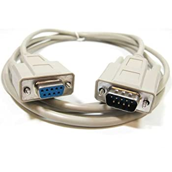 SF Cable, 1 ft DB9 M/F Serial Extension Cable RS232