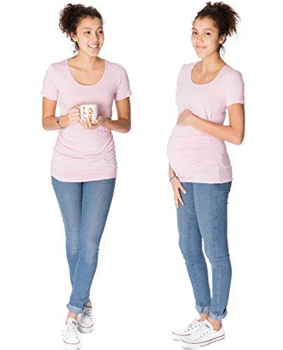 GoFuture maternity clothes shirt woman Maternity wear 3in1 CARA KS2002 (Rose , Size 10 UK)