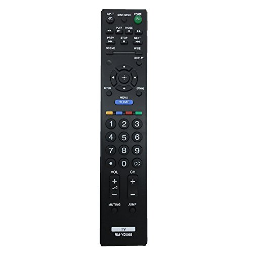 New TV Remote RM-YD065 fit for Sony Bravia TV KDL22BX320 KDL22BX321 KDL32BX320 KDL32BX321 KDL32BX420 KDL32BX421 KDL40BX420 KDL40BX420B KDL40BX421 KDL46BX420 KDL46BX421 KDL55BX520