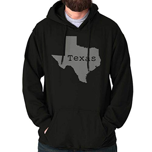 Texas State Shirt State Pride USA T Novelty Gift Ideas Cool Hoodie Sweatshirt Black