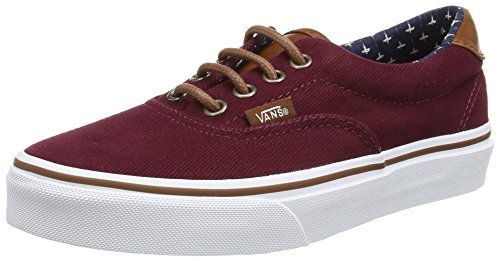 e4abe09010 Vans Unisex Era 59 (T L) Windsor Wine Plus Skate Shoe 7.5 Men ...