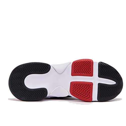 Jeffrey Sneaker E In Con Carenata Campbell Camoscio Nero Bicolore Jef40jc101anero Tessuto Para Tecnico Gomma rqr45
