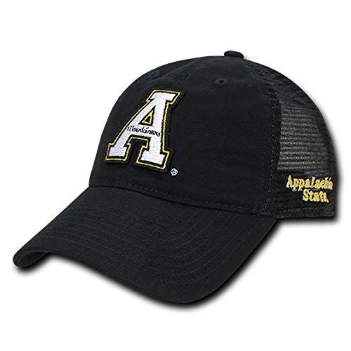 (ASU Appalachian App State University Mountaineers Polo Relaxed Trucker Mesh Baseball Ball Cap)