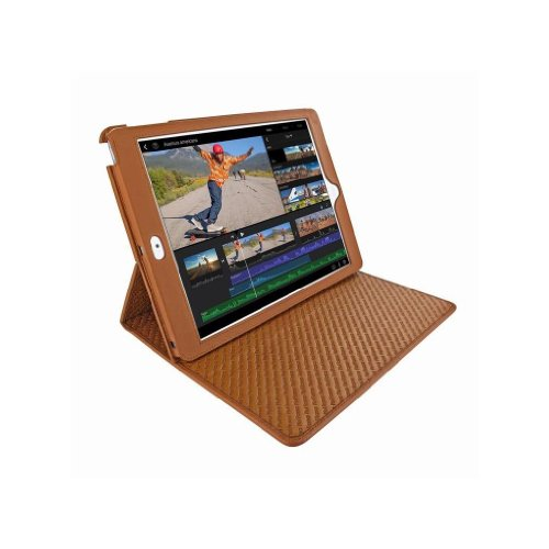 Apple iPad Air Piel Frama Tan Cinema Magnetic Leather Cover by Piel Frama