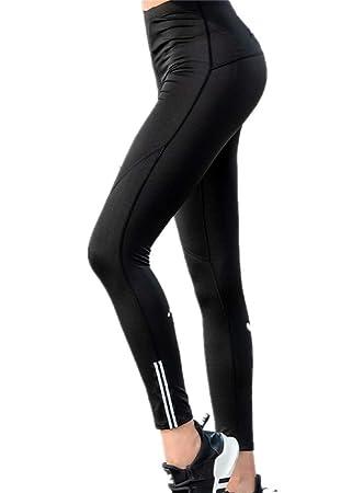 GGZZLL Pantalones de Yoga para Mujer Cintura Alta Medias ...