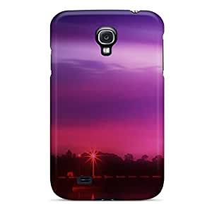 Superface Premium Protective Hard Case For Galaxy S4- Nice Design - River Twilight