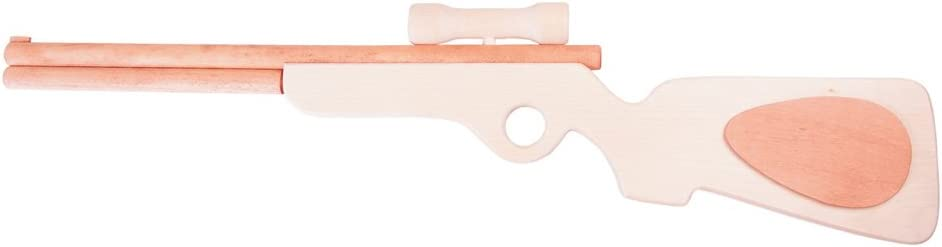 Koakid Kinder Flinte Gewehr Jagdgewehr Spielzeug Holz Holzspielzeug