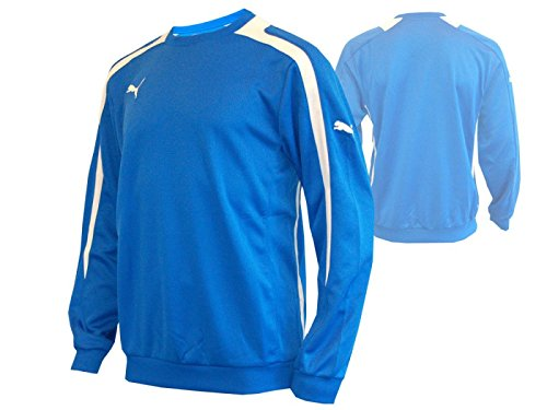 Puma PowerCat TT 1.12 Junior trainingtop Football Bleu