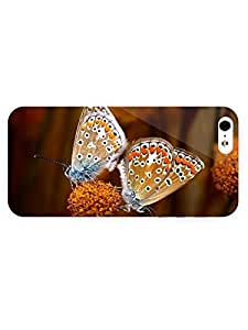3d Full Wrap Case for iPhone 5/5s Animal Butterflies97