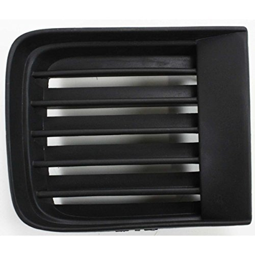 DAT AUTO PARTS Black Front Bumper Cover Inner Grille Replacement for 98-04 Nissan Pathfinder from 12/1998 Production Date NI1038103 Left Driver Side