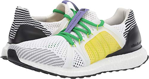 quality design 4fe4d 8594c adidas by Stella McCartney Women s Ultraboost Footwear  White Black White Fresh Lemon 8.5