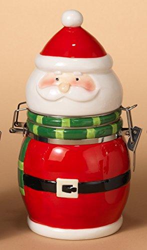 Adorable Ceramic Christmas Holiday Figurine Canister 8