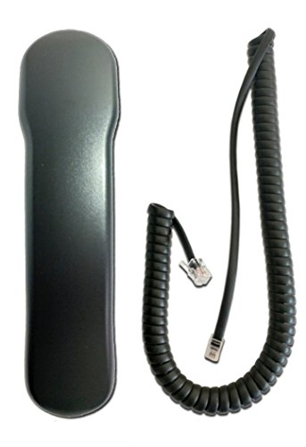 Nortel Replacement Handset (Nortel i2000 Compatible Handset CHARCOAL WITH CURLY CORD)