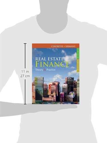 Real Estate Finance: Theory and Practice by ONCOURSE LEARNING