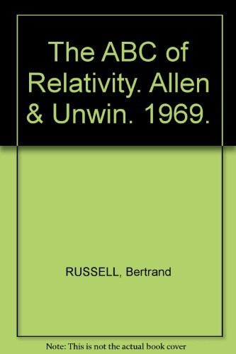 Used, ABC of Relativity by Russell, Bertrand (1969) Hardcover for sale  Delivered anywhere in USA