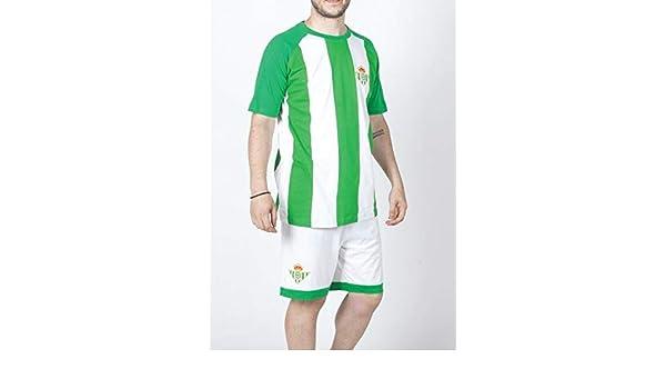 FUTBOL Pijama del Real Betis Adulto - L: Amazon.es: Deportes ...