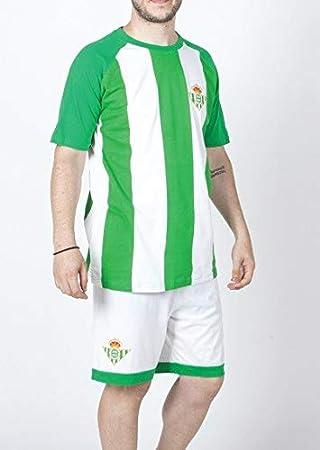 FUTBOL Pijama del Real Betis Adulto - XXL: Amazon.es: Deportes y aire libre