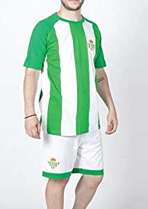 FUTBOL Pijama del Real Betis Adulto - XL: Amazon.es: Deportes y ...