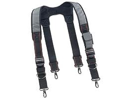Ergodyne Arsenal 5560 Padded Adjustable Tool Belt Suspenders w/ Front Pocket